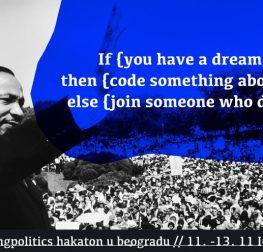 #HackingPolitics hakaton – Otvoreni podaci i politika